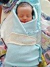ŠŤASTNÝM rodičům, Kateřině Abrahámové a Jakubovi Smutnému z Hudlic, se 27. března 2018 v 02.55 hodin narodilo první miminko, krásný klučina Václav. Venoušek vážil po porodu 3,16 kg a měřil 49 cm. Foto: Rodina
