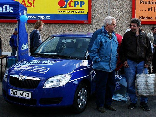 Výherní vůz nová Škoda Fabia