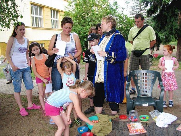 Děti slavily dětský den v Králově Dvoře