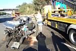 Na třináctém kilometru D5 u obce Vráž  ve směru na Plzeň došlo k tragické dopravní nehodě. Osobní vozidlo Škoda Octavia zde usmrtilo koně, který utekl z ohrady.