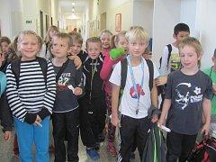 Branné cvičení ve zdické základní škole