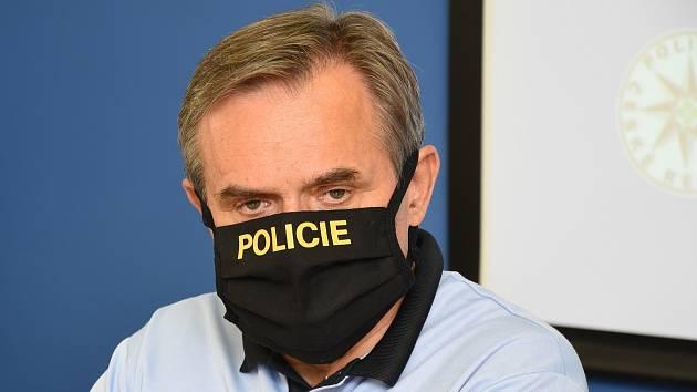 Ředitel středočeské policie Václav Kučera.