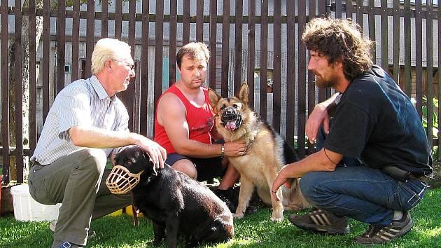 Psycholog psů poradí v tísni