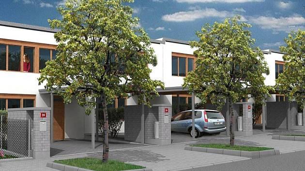 V atraktivní lokalitě Pod Homolkou v Berouně vznikne 41 řadových domů.