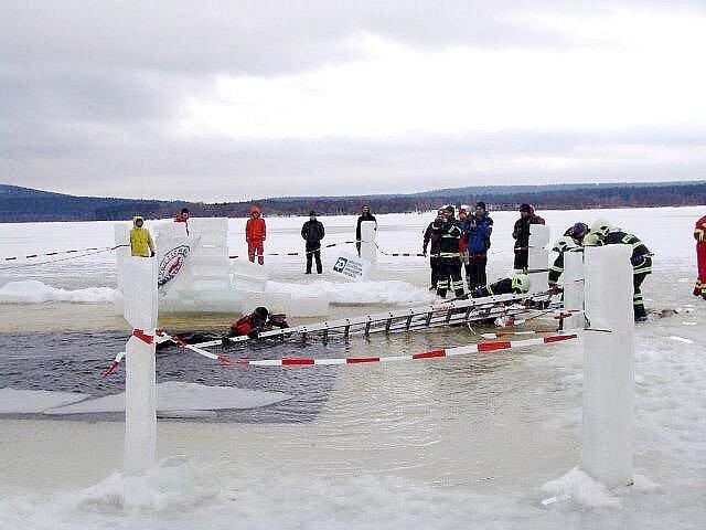 Cvičení řevnických záchranářů