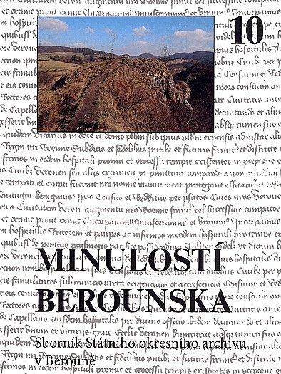 Vychází desátý díl Minulostí Berounska