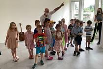 Slavnostní otevření tříd v nové soukromé základní školy VIA v Berouně.