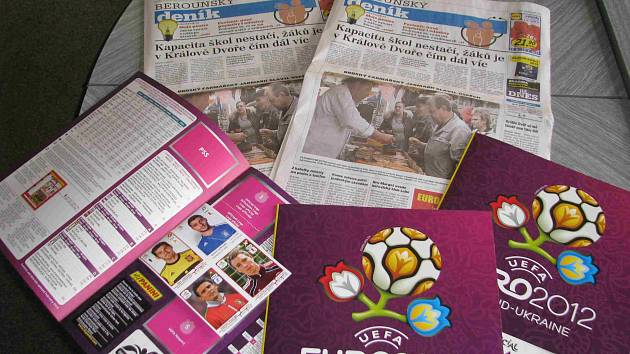 Album Euro 2012 ve vašem Deníku