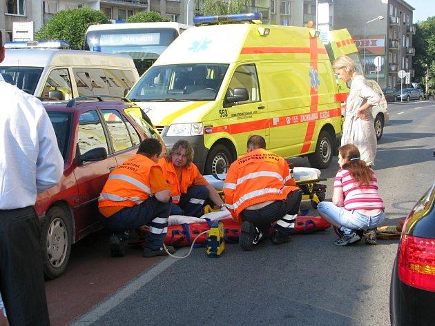 Řidič srazil devítiletého školáka.