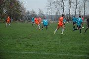 Domácí (v oranžovém) urvali tři body proti plzeňskému celky.
