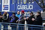 Cábelíci (v modrém) zaskočili doma lídra tabulky.