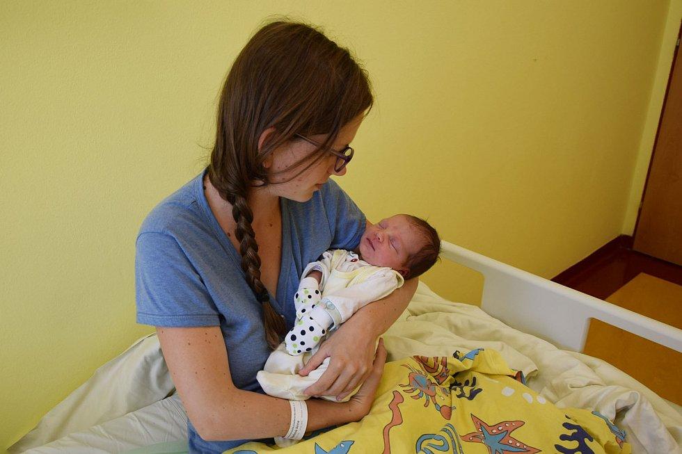 Dominika Pajerková se manželům Anně a Davidovi narodila v benešovské nemocnici 27. července 2021 v 8.43 hodin, vážila 3380 gramů. Doma v Žabovřeskách na ni čekal bratříček Tomáš (2,5).