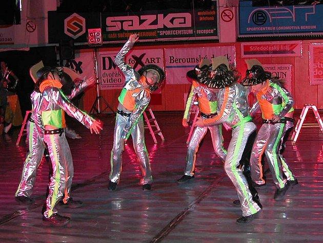 Hasiči z taneční skupiny R.A.K. měli našlápnuto od začátku do konce.