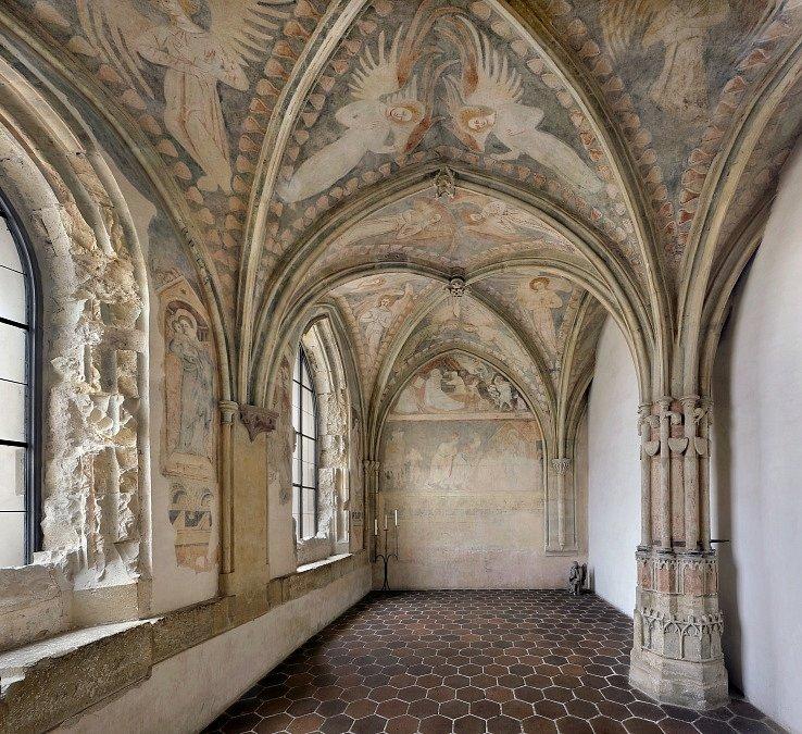 Středočeské památky ve správě Národního památkového ústavu. Na snímku klášter Sázava – kaple