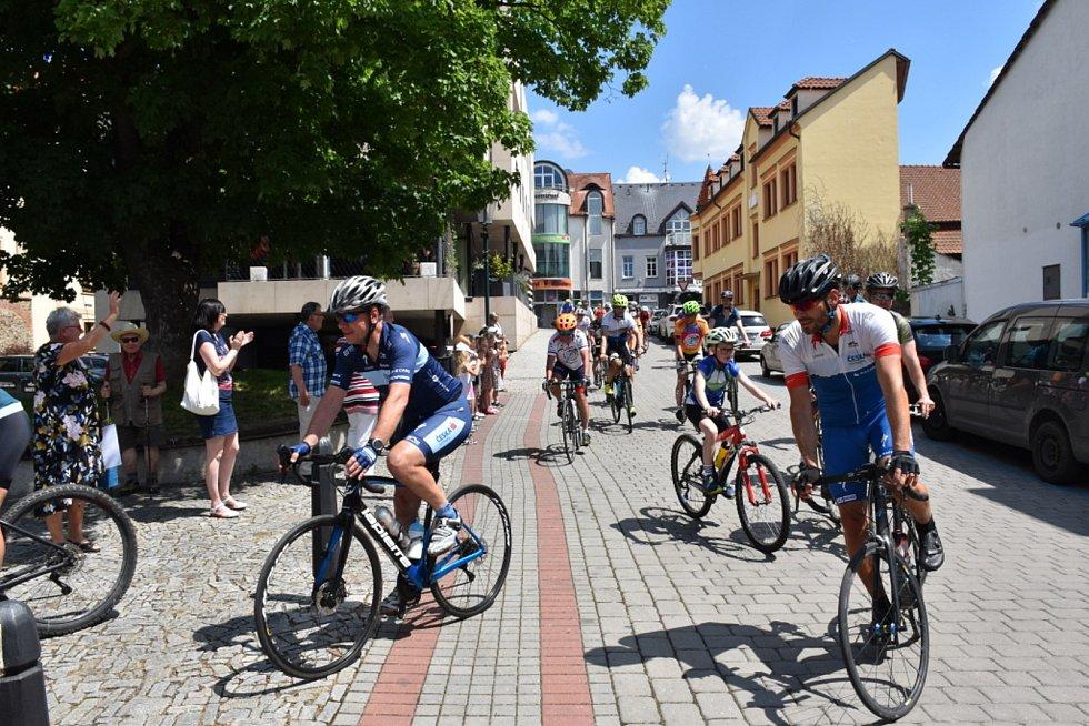 Cyklotour Na kole dětem v Berouně.