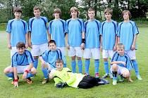 Starší žáci Praskoles dostanou při prvním mistrovském zápase dort za výhru v jarní Tip lize mezi mládežnickými kluby.