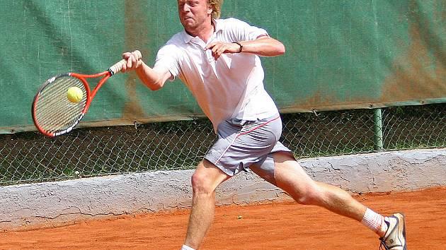 Na Memoriálu Josefa Hůrky v Žebráku se představila řada kvalitních tenistů