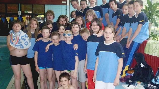 Mladší žáci Lokomotivy Beroun.