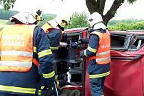 Dopravní nehoda u Korna