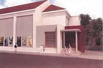 Ve třetí etapě rekonstrukce získá berounské kino novou fasádu, vstup i vestibul