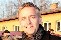 Předseda OFS Kladno Petr Blažej