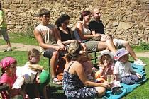 Akce na hradu Točník se těší velké návštěvnosti