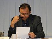 Místostarosta Ivan Kůs (ČSSD).