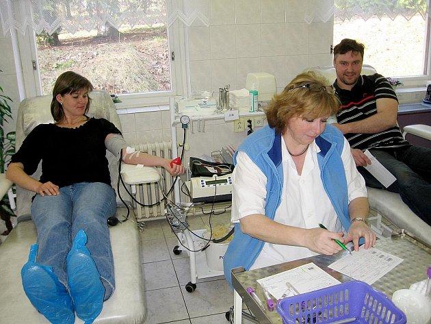 Hořovické maminky darovaly krev