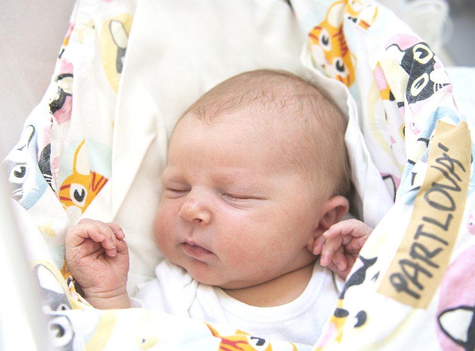 Magdaléna Partlová se narodila v nymburské porodnici 1. červa 2021 ve 4.49 hodin s váhou 4170 g a mírou 48 cm. Do Opolan pojede prvorozená holčička s maminkou Martinou a tatínkem Zdeňkem.