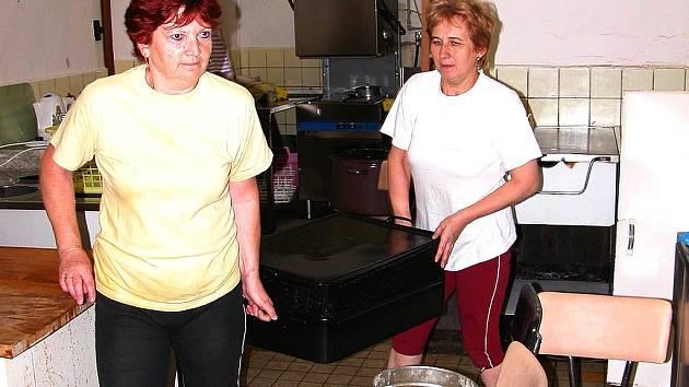 ZMĚNA. Kuchyně na Základní škole na Wagnerově náměstí musí být vyklizena do středy. Od čtvrtka ji převezme firma Jež.