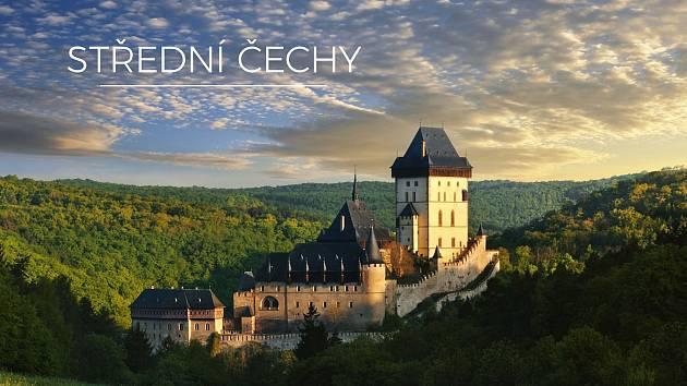 Kniha Střední Čechy.