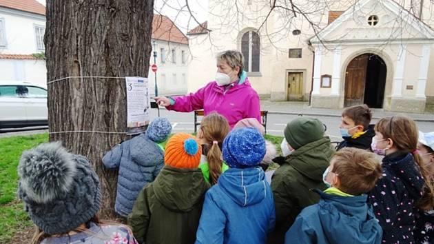 Děti poznávaly berounskou historii hravou formou.