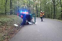 Při nehodě u Zdejciny zemřela důchodkyně
