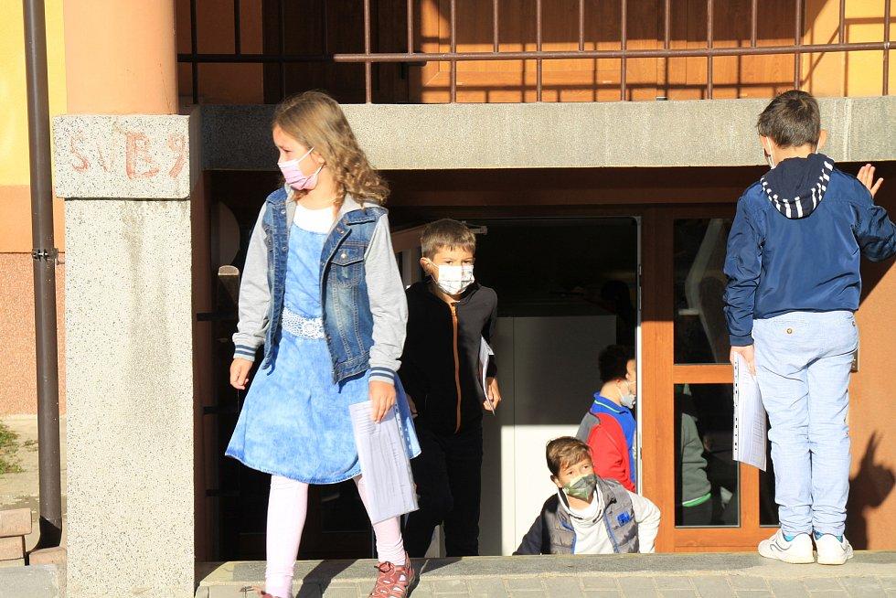 Nový školní rok na Základní škole Broumy.