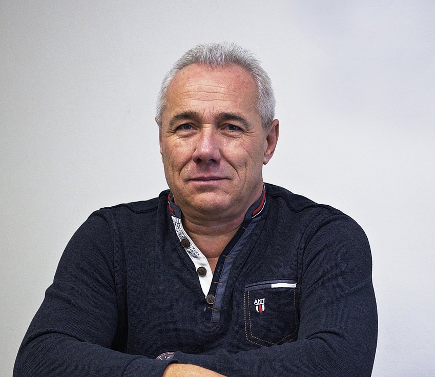 Starosta Komárova Jaroslav Klekner.