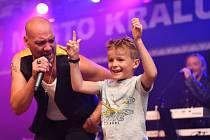 V rámci Králodvorského kulturního léta 2021 zněla hudba, tentokráte revivalová.