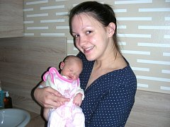 JOHANA Benešová se narodila 23. května 2016 a křestní jméno má po své praprababičce. Johance sestřičky po porodu navážily 2,89 kg a naměřily 50 cm. Domů do Prahy si prvorozenou dcerku odvezou rodiče Hana Knězková a Michal Beneš.