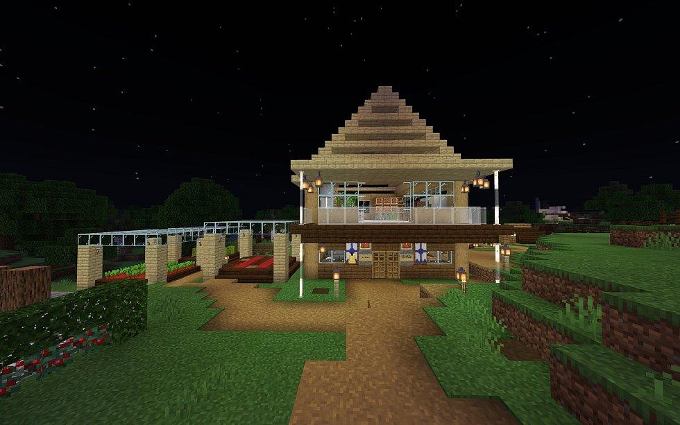 Ukázka jednoho z domů.