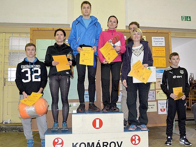 Nejlepší v kategorii Přeborník Sokola Komárov.