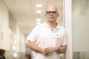 Lékař Marek Janka z Rehabilitační nemocnice v Berouně.