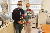 Mezinárodní den zdravotních sester a ošetřovatelek v Nemocnici Hořovice.