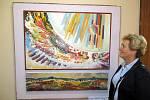 Městská galerie v Berouně připravila výstavu k osmdesátinám sochaře a malíře Jiřího Vydry.