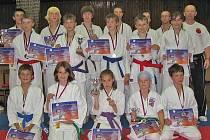 Berounský klub karate.