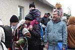 Tradiční masopust v obci Halouny byl opět ve znamení dobrého jídla, pití,  hudby  a bujarého veselý