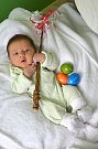 Manželé Lucie a Filip Vrbovi zaslali do redakce Berounského deníku fotografii syna Matyáše, který se narodil 9. dubna 2014 v hořovické porodnici U Sluneční brány. Matyášek vážil po porodu 3,54 kg a měřil 48 cm. Foto: Rodina.