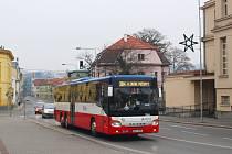Autobusová doprava na Berounsku.