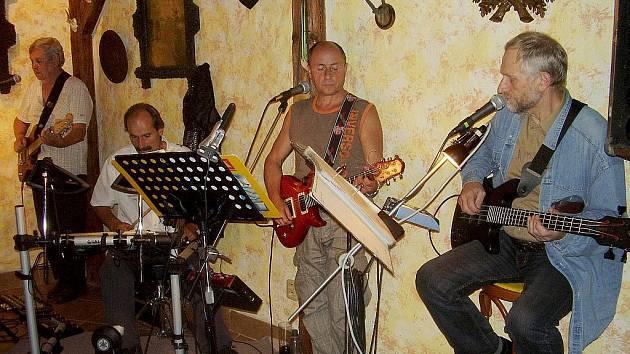 Country rocková skupina Vodáci