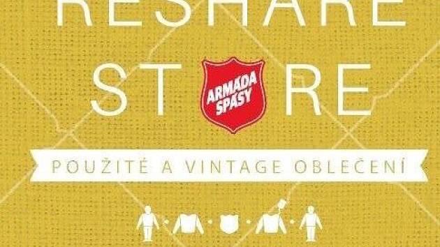 Berounský obchod Armády spásy: ReShare Store.