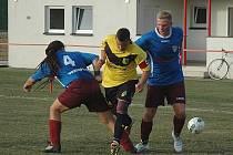Michal Dochtor a Jan Jirásek se zamýšlejí nad amatérským fotbalem.