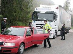 Dopravně bezpečnostní akce na Berounsku